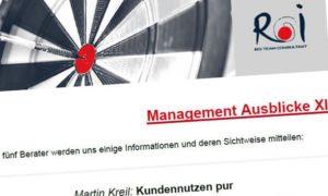 Management Ausblicke XI