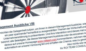 Prospettive di management VIII