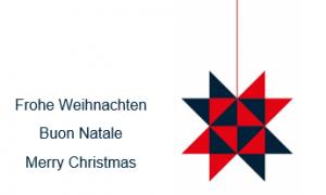 Weihnachtsferien vom 23.12.2019 – 06.01.2020